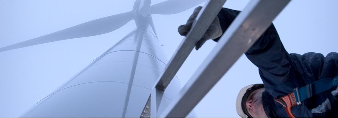风机内安全工作